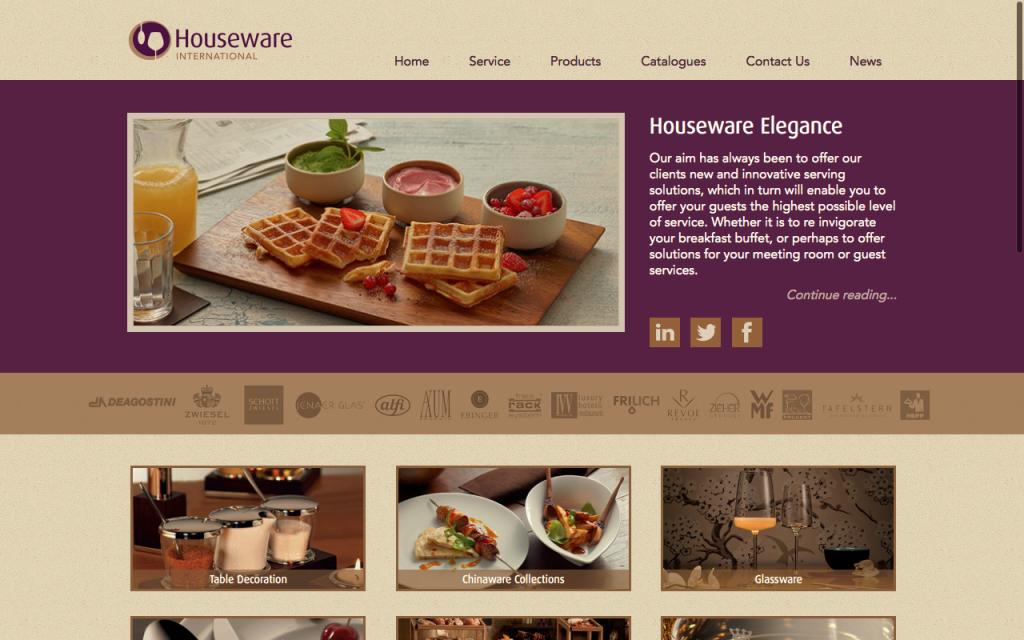 Houseware International Website